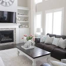 Dark Gray Living Room Furniture by Best 25 Grey Leather Couch Ideas Only On Pinterest Leather