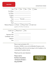 donation form 36 free donation form templates in word excel pdf