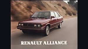1985 renault alliance amc renault alliance commercial 1982 youtube