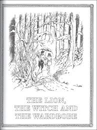chronicles narnia official coloring book 065631 details