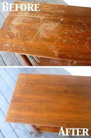heat stain on wood table removing white heat stain from wood table brokeasshome com