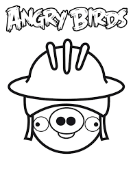 soldier angry bird pigs coloring pages bulk color