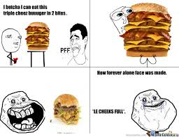 Forever Alone Meme Face - how forever alone face was invented by niiokani meme center