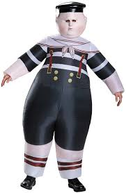 Coupons Halloween Costumes Mens Tweedle Dum Tweedle Dee Inflatable Costume Costume Craze