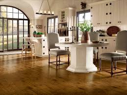Laminate Flooring Vs Wood Flooring Lovely Dining Space And Kitchen Open Designs Ideas With Laminate