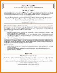 Sample Social Worker Resume No Experience by Resume For Child Care Job With No Experience Childcare Worker