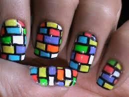 cute nail polish designs to do at home bricks nail art tutorial