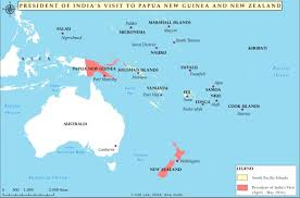 Pacific Region Map South Pacific Gaining Prominence In Indian Foreign Policy