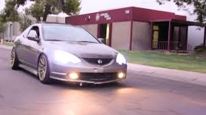 acura stance honda acura rsx type s stance video youtube
