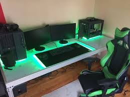 Gaming Desk Setup by 93 Best Gaming Images On Pinterest Gaming Purple And Wallpapers
