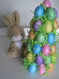 glitter easter egg ornaments glitter egg tree foam cone 4 packs foam glitter egg ornaments 1