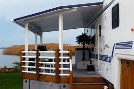 Design Your Own Motorhome Awesome Rv Deck Design Ideas How To Build A Deck Deck Design
