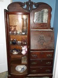 Cherry Secretary Desk by Side By Side Detail Victorian Side By Side Secretary Desks