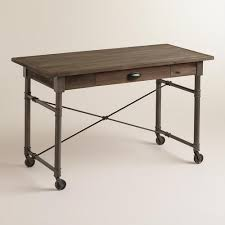 Industrial Writing Desk by Brown Desk