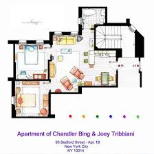 seinfeld apartment floor plan apartments small living room with couch in the middle and tiny