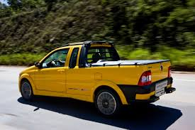 mitsubishi strada modified cars coop fiat sports up its strada pickup truck in brazil