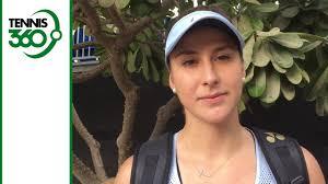 Challenge Injury Belinda Bencic Talks Comeback From Injury At Al Habtoor Tennis