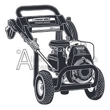 020208 1 troy bilt 2600 psi high pressure washer