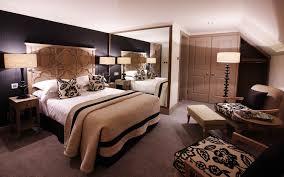 Bedroom Furniture  Modern Bedroom Furniture  Medium Brick - Cowhide bedroom furniture