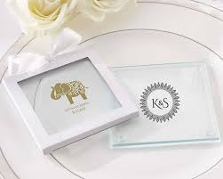 personalized indian glass coaster set of 12 my wedding