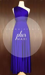 maxi plus size royal blue bridesmaid dress convertible dress