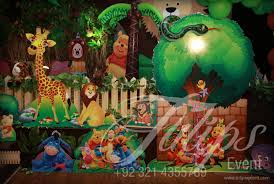 jungle theme birthday party birthday party supplies one stop solution for thematic birthday