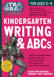 star wars workbook kindergarten writing abcs star wars