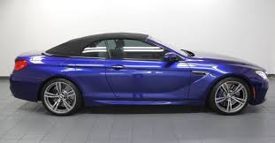 bmw m6 blue 2017 bmw m6 blue metallic convertible exterior mustcars com