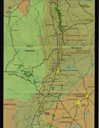 Appalachian Trail Massachusetts Map by Ham Trails
