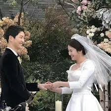 wedding wishes in korean sweethearts song joong ki and song hye kyo tie the knot