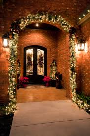 how to put christmas lights on your wall holiday decor holiday decoration with christmas lights and door mat