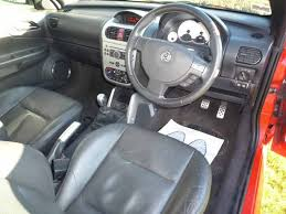 Tigra Interior Vauxhall Tigra 1 4 Exclusiv Red Coupe Convertible Cabriolet
