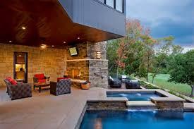 swimming pool houses designs alluring brilliant open concept small