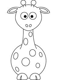 giraffe coloring pages tattoo clip art library