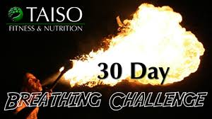 Challenge Breathing 30 Day Breathing Challenge Taiso Fitness And Nutrition