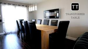 dining room tables for 12 transformer table the future of your living room by transformer