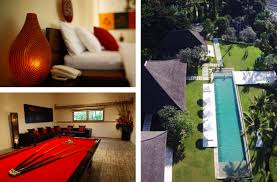 bali villas with pool tables ultimate bali