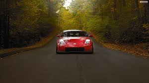 Nissan 350z Red - youwall red nissan 350z wallpaper wallpaper wallpapers free