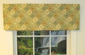 straight valances solid patterned ruffled