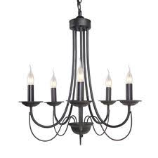 Black Traditional Chandelier Cast Iron Traditional Chandeliers Ebay