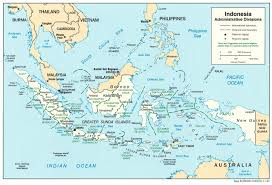 Batavia World Map by Indonesia