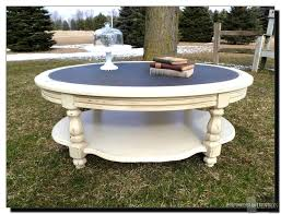 Distressed Coffee Tables by Round Distressed Coffee Table Hd Home Wallpaper