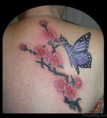 60 pretty cherry blossom tattoos for back