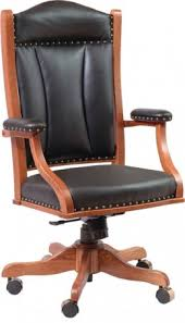 Executive Desk Chairs Desk Chairs Solid Hardwood Amish Made In Central Pa Country