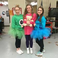 sam the halloween spirit boo sully and mike wazowski for cartoon spirit day halloween