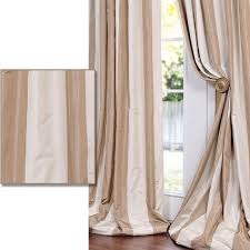 Unique Curtain Panels Defined By A Unique Sheen And Fine Weave This Exclusive Striped