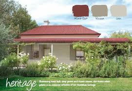 11 ways to add color to your exterior red roof roof colors and