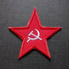 Soviet Russian Flag Soviet Union Russia Flag Star Logo Iron On Patch Men U0027s Fashion