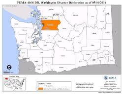 Chelan Washington Map by Washington Flooding And Mudslides Dr 4168 Fema Gov