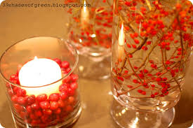 christmas candle centerpiece ideas 33 shades of green handmade holidays easy centerpiece idea